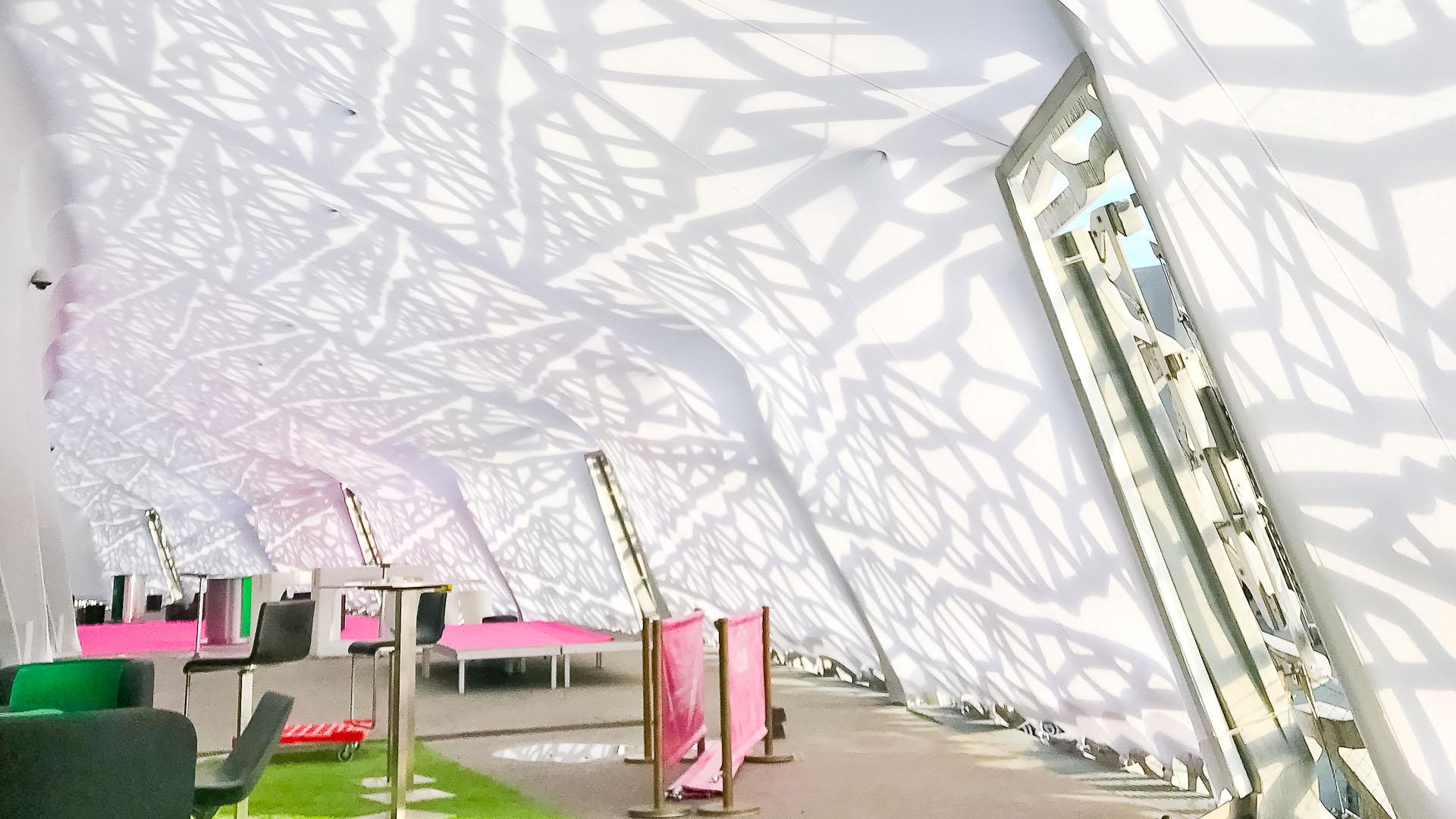 Décoration Intérieure U0026 Salle Éphémère Stade Jean Bouin Paris
